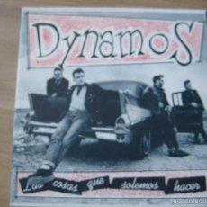 Discos de vinil: DYNAMOS DOBLE SG 1992 LAS COSAS QUE SOLEMOS HACER/ AMBIENTE DE BAR +2 ROCK N ROLL ROCKABILLY. Lote 58427451