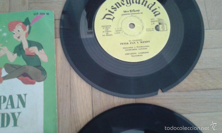 Discos de vinilo: Tres discos- cuento- Walt Disney - Hecho en Venezuela y Mexico 1968 raros!! - Foto 6 - 58428435