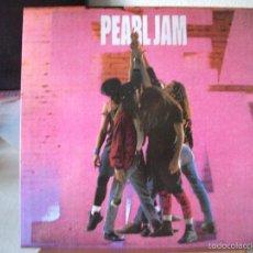Discos de vinilo: LP DE PEARL JAM, TEN (1991, EDICIÓN ESPAÑOLA 468884 1) MUY BUEN ESTADO, INCLUYE FUNDA INTERIOR. Lote 139387738