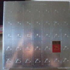 Discos de vinilo: LP RECUERDO DEL 75º ANIVERSARIO DE E. LEÓN JIMÉNES, C. POR A., DIRECCIÓN Y ARREGLOS DE RAFAEL SOLANO. Lote 58433065