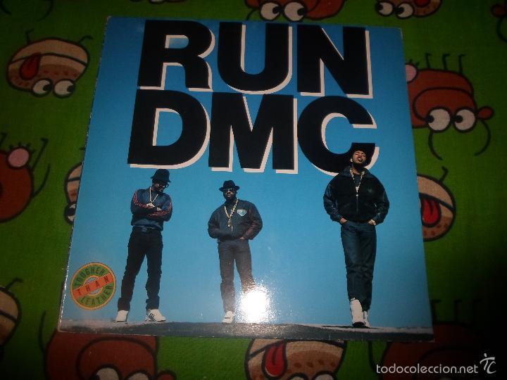 RUN DMC : TOUGHER THAN LEATHER (Música - Discos - LP Vinilo - Rap / Hip Hop)