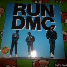Discos de vinilo: RUN DMC : TOUGHER THAN LEATHER. Lote 58433204