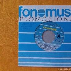 Discos de vinilo: GEORGE BARBAR, FREESTATE (FONOMUSIC) SINGLE PROMOCIONAL ESPAÑA. Lote 58436411