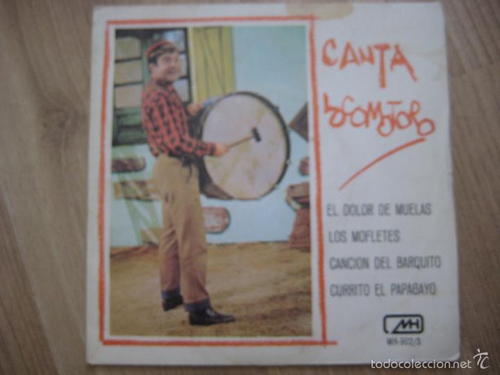 CANTA LOCOMOTORO CHIRIPITIFLAUTICOS EP MH 1978 EL DOLOR DE MUELAS +3 TVE TELEVISION (Música - Discos de Vinilo - EPs - Música Infantil)