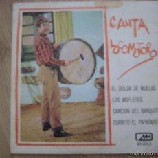Discos de vinilo: CANTA LOCOMOTORO CHIRIPITIFLAUTICOS EP MH 1978 EL DOLOR DE MUELAS +3 TVE TELEVISION. Lote 195193362