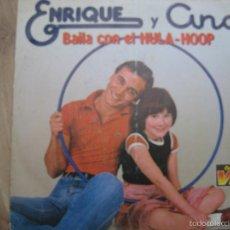 Dischi in vinile: ENRIQUE Y ANA SG HISPAVOX 1979 BAILA CON../ VIEJO Y SESENTON (WHEN I'M 64 - BEATLES COVER LENNON ). Lote 58437214
