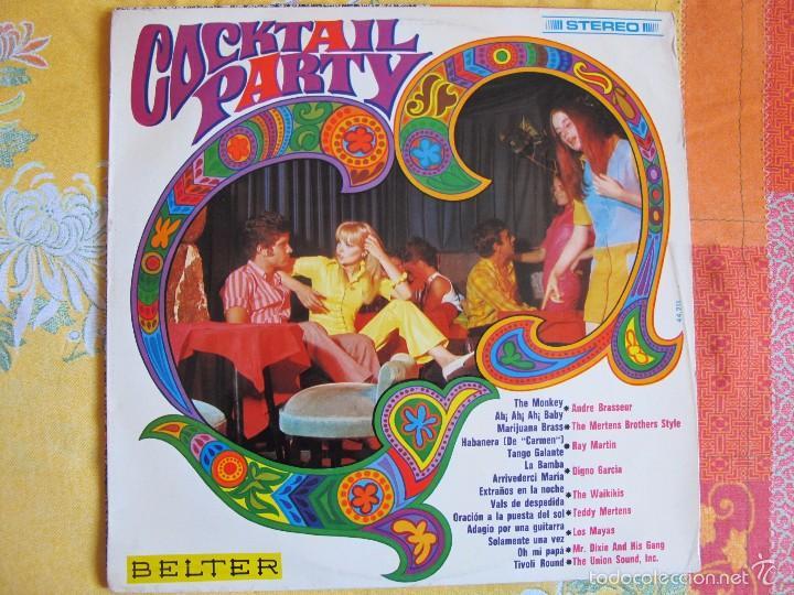 LP - COCKTAIL PARTY - VARIOS (SPAIN, DISCOS BELTER 1968) (Música - Discos - LP Vinilo - Grupos Españoles 50 y 60)