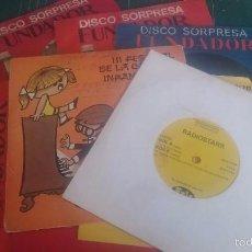 Discos de vinilo: SINGLES VARIOS. Lote 58441631