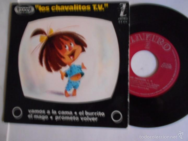 LOS CHAVALITOS DE T.V. -EP VAMOS A LA CAMA +3-NUEVO 1964 (Música - Discos de Vinilo - EPs - Música Infantil)