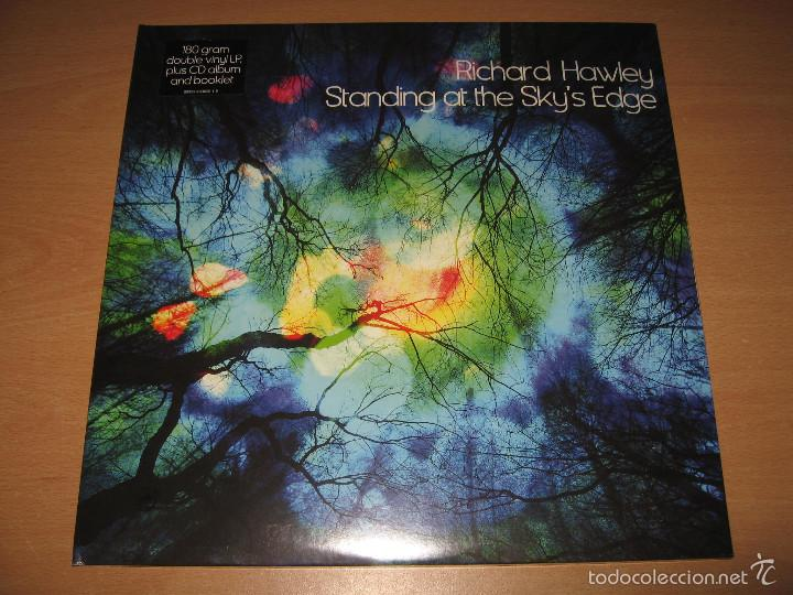 2 LP + CD RICHARD HAWLEY STANDING AT THE SKY´S EDGE - MUTE PARLOPHONE AÑO 2012 EU (Música - Discos - LP Vinilo - Pop - Rock Extranjero de los 90 a la actualidad)