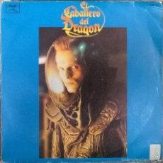 Discos de vinilo - José Nieto. El caballero del Dragón (BSO, Miguel Bosé). Vinilo, Spain 1986 single - 58445367