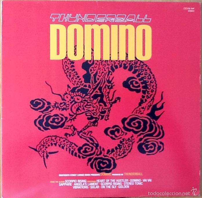 THUNDERBALL : DOMINO [USA 2003] EP 12' (Música - Discos de Vinilo - Maxi Singles - Electrónica, Avantgarde y Experimental)