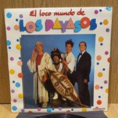 Discos de vinilo: EL LOCO MUNDO DE LOS PAYASOS. LP / HISPAVOX - 1982 / MBC. ***/***. Lote 58450003