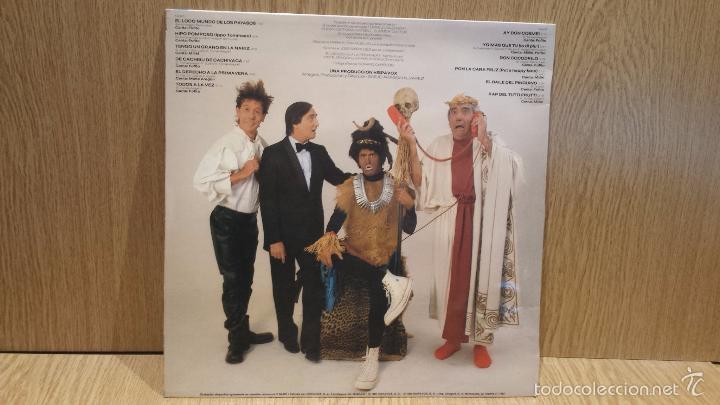 Discos de vinilo: EL LOCO MUNDO DE LOS PAYASOS. LP / HISPAVOX - 1982 / MBC. ***/*** - Foto 2 - 58450003