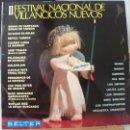 Discos de vinilo: LP II FESTIVAL DE VILLANCICOS NUEVOS (DISCOS BELTER, 1968), LOS GRITOS, SABRINA Y OTROS, VER FOTOS. Lote 58450889