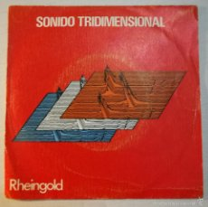 Disques de vinyle: RHEINGOLD - SONIDO TRIDIMENSIONAL. Lote 58452516