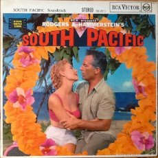 Discos de vinilo: RODGERS & HAMMERSTEIN : BSO SOUTH PACIFIC [UK 1958]. Lote 55093938