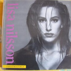 Discos de vinilo: LP - LISA NILSSON - INDESTRUCTIBLE (SPAIN, CLASH RECORDS 1992). Lote 58453094
