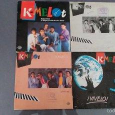 Discos de vinilo: LOTE 5 SINGLES KAMELOT. Lote 58453597
