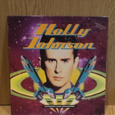 Discos de vinilo: HOLLY JOHNSON. ACROSS THE UNIVERSE. MAXI SG / MCA RECORDS / MBC. ***/***. Lote 94246758