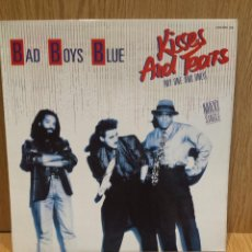 Discos de vinilo: BAD BOYS BLUE. KISSES AND TEARS ( MY ONE AND ONLY ) MAXI SG / ZAFIRO / MBC. ***/***. Lote 58463287