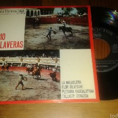 Discos de vinilo: TRÍO CALAVERAS:LA MALAGUEÑA/FLOR SILVESTRE/PLEGARIA GUADALUPANA/FALLASTE CORAZON (EP). Lote 58466611