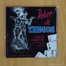 Discos de vinilo: JORGE CARDOSO - RODRIGUEZ PEA + 3 - EP. Lote 58469883
