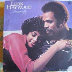 Discos de vinilo: LP - LEON HAYWOOD - NATURALLY (PORTUGAL, 20TH CENTURY FOX RECORDS 1980). Lote 58470283