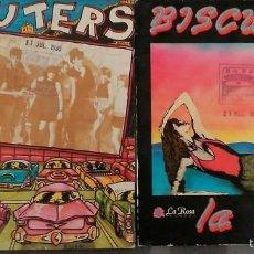 Discos de vinilo: LOTE DE 2 SINGLES BISCUTERS. Lote 58471987