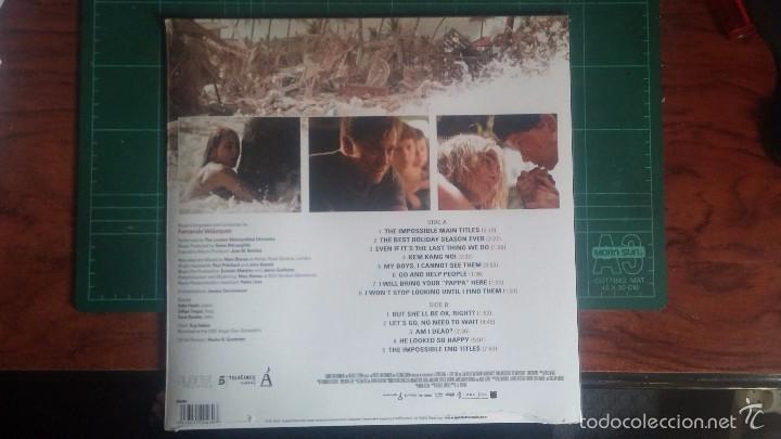 Discos de vinilo: LO IMPOSIBLE LP - BSO - Foto 2 - 80508689