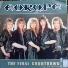 Discos de vinilo: EUROPE. THE FINAL COUNTDOWN. EPIC-CBS, ESP. 1986 (SINGLE SIDED PROMO). Lote 58473303