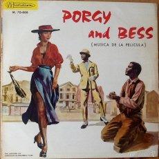 Discos de vinilo: GEORGE GERSHWIN : BSO PORGY AND BESS [ESP 1965] LP. Lote 55093764
