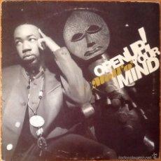 Discos de vinilo: MC MELLO : OPEN UP YOUR MIND [UK 1990] 12'. Lote 55223987