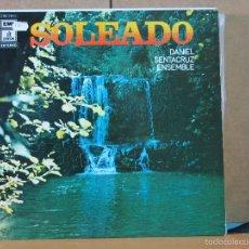 Discos de vinilo: DANIEL SENTACRUZ ENSEMBLE - SOLEADO - EMI-ODEON 1 J 062-18037 - 1974. Lote 58477342