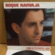 Discos de vinilo: ROQUE NARVAJA. COMO SI ESTUVIERAS AQUÍ. SINGLE / MOVIE PLAY - 1982 / CASI LUJO. ***/****. Lote 58478856