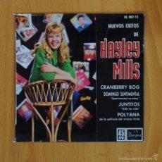 Disques de vinyle: HAYLEY MILLS - CRANBERRY BOG + 3 - EP. Lote 58483000