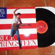 Discos de vinilo: BRUCE SPRINGSTEEN BORN IN THE U.S.A. MAXI SINGLE VINILO HECHO EN USA DEL AÑO 1984 CONTIENE 2 TEMAS. Lote 58486686
