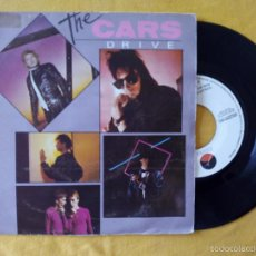 Discos de vinilo: CARS, THE - DRIVE (WEA) SINGLE PROMOCIONAL ESPAÑA. Lote 58488664
