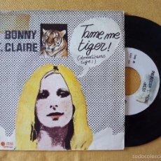 Discos de vinilo: BONNY ST. CLAIRE, TAME ME TIGER (DIRESA) SINGLE PROMOCIONAL ESPAÑA - MOD FREAKBEAT. Lote 58488859