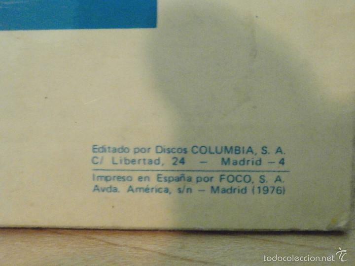 Discos de vinilo: Disco - Vinilo - Lp - El curro - Columbia 1976 - Firmado por el autor - Flamenco Raro y muy escaso - - Foto 6 - 58489617