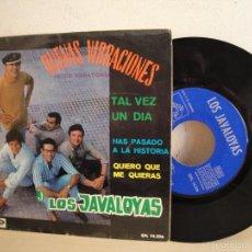 Discos de vinilo: LOS JAVALOYAS-BUENAS VIBRACIONES -EP DE 4 CANCIONES-1967-ODEON BCN. Lote 58495706