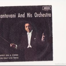 Discos de vinilo: SINGLE VINILO . MANTOVANI AND HIS ORCHESTRA - 1967 - PROMOCIONAL. Lote 58497952