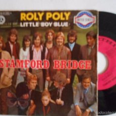 Discos de vinilo: STAMFORD BRIDGE-SINGLE ROLY POLY-1970. Lote 58498151