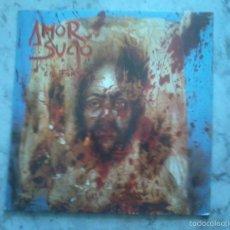 Discos de vinilo: AMOR SUCIO - LP - LA FARSA.. Lote 58498669