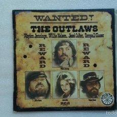 Discos de vinilo: THE OUTLAWS - WANTED LP 1977 EDICION ESPAÑOLA. Lote 58500432