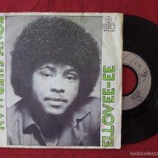 Discos de vinilo: TONY SHERMAN, ELLOVEE-EE (ARIOLA) SINGLE. Lote 58504005