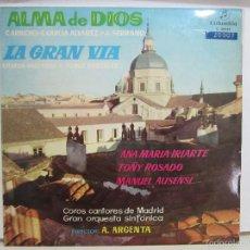 Discos de vinilo: ATAULFO ARGENTA - ALMA DE DIOS / GRAN VIA - COLUMBIA - 1959 - EX+/VG+. Lote 58509033