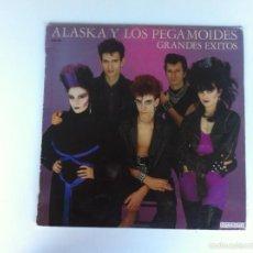 Discos de vinilo: GRANDES ÉXITOS - ALASKA Y LOS PEGAMOIDES (LP). Lote 58512978