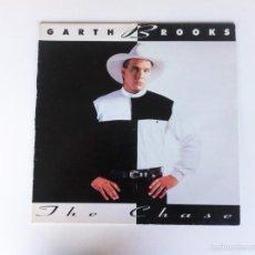 Disques de vinyle: THE CHASE - GARTH BROOKS (LP). Lote 58513194