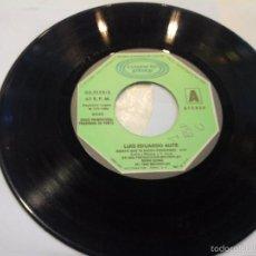 Discos de vinilo: MUSICA SINGLE LUIS EDUARDO AUTE SIENTO QUE TE ESTOY PERDIENDO SIN PORTADA OJ.C. Lote 58513294